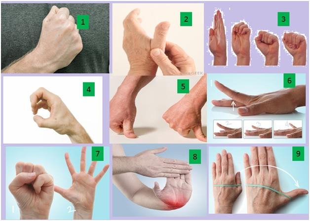 arthritis exercises