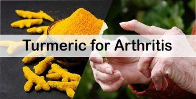 turmeric for arthritis pain