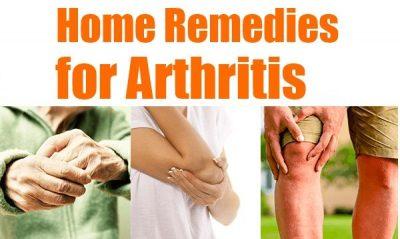 arthritis home remedies